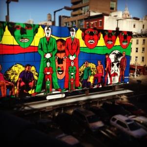 High Line art